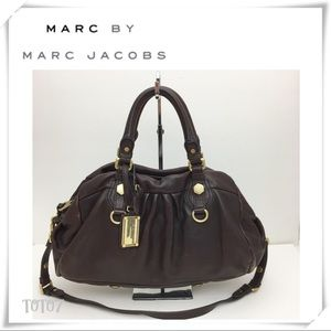Marc by Marc Jacobs Dr Q Groovee Satchel Brown